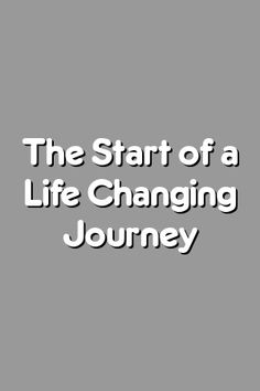 Boring Relationship Mentions: The Start of a Life Changing Journey