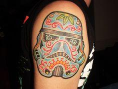 Mexican Motif Star Wars tattoo