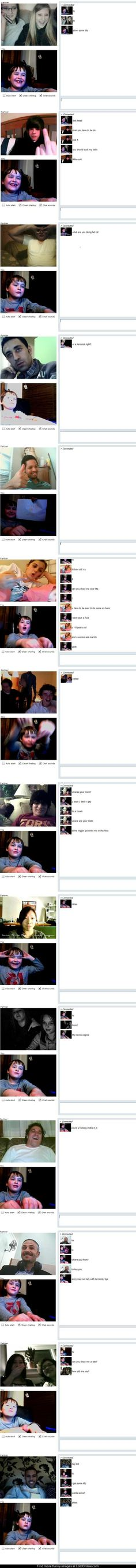 best chat roulette troll