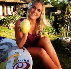 Bethany Hamilton, one of the most amazingest surfer with such an inspirational story of how she or attacked by a shark in her teenage years