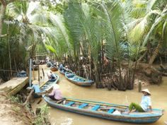 The journey to Mekong villages will begin here...