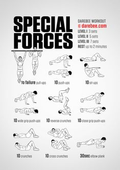 10 Great Bodyweight Workouts - Strength - You Can Do Great Workouts At Home Without Equipment. Here are 10 great places - # Removal workout for home training fitness diet Fitness Workouts, Gym Workout Tips, Ab Workout At Home, Workout Challenge, At Home Workouts, Army Workout, Spartan Workout, Military Workout Plan, Workout Videos
