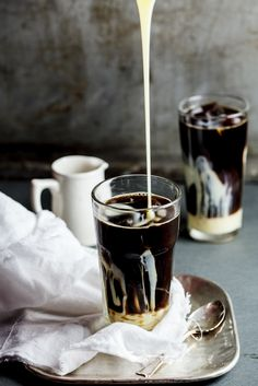 Ultimate iced coffee/ a good post on food styling tips for foodie bloggers