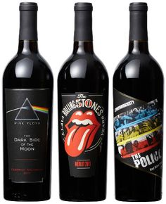 Your #1 Source for Grocery & Gourmet Food » Wines that Rock Collector's Edition Mixed Pack, 3 x 750 mL