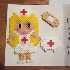 Nurse hama beads by louisefbagge