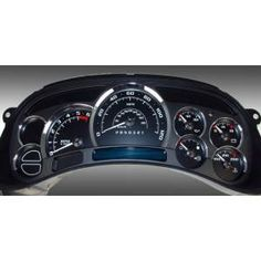 2006 Chevy Silverado 1500 US Speedo Escalade Edition Gauge Face Kits - Replacement Gauge Face Kit Silverado Parts, Custom Silverado, 2006 Chevy Silverado, Chevy Duramax, Chevy Chevrolet, Chevy Silverado Accessories, Tactical Truck, Chevy 1500, Pickup Camper