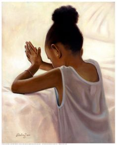 Black Art African American Bedtime Prayer by Sterling Brown Sterling Brown, Arte Black, Bedtime Prayer, Natural Hair Art, By Any Means Necessary, Black Artwork, Afro Art, My Black Is Beautiful, Black Women Art