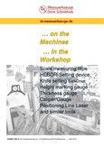 ... on the Machines | ... in the Workshop gefunden auf Yumpu.com - eine fantastische ePaper Lösung