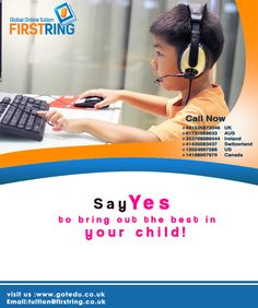 FGOT Firstring Global Online Tuition offers you a very unique and personal learning experience. We are fully committed to make your study an interesting and enjoyable experience. Study, Education, Learning, Ring, Children, Unique, Projects, Young Children, Log Projects
