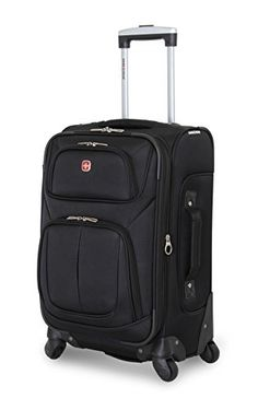 Carry-on Luggage Collections | SwissGear Sion 21 Black CarryOn Luggage Black *** Click image to review more details.(It is Amazon affiliate link) #art