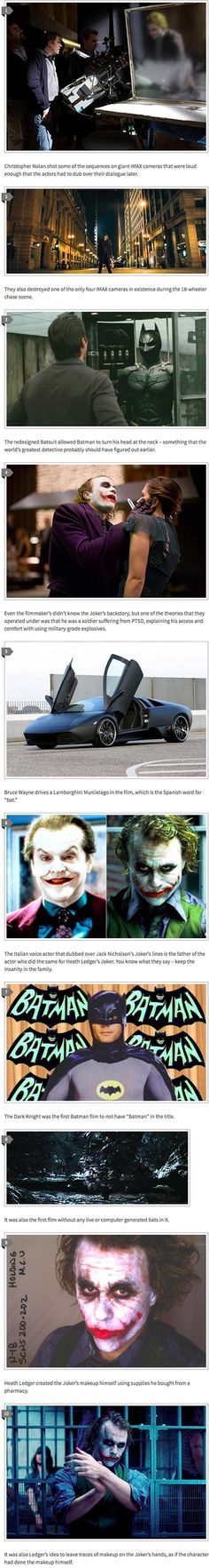 Here are some cool facts about The Dark Knight that might surprise you. No I want to watch it again!