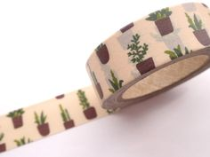 Plants washi tape Gardening tape Mother's by WashiTapeAddictClub