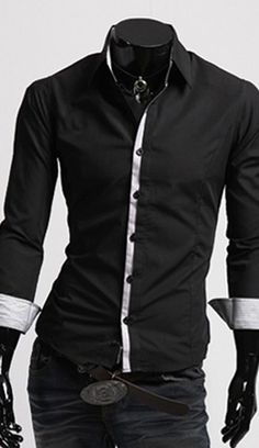 Cheap chemise homme, Buy Quality chemise homme fashion directly from China  fit shirt Suppliers  2017 New Fashion Mens Clothing Mens Shirts Casual Slim  Fit ... c837d1909ee