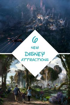There's always something new going on at Disney but this year, there are so many awesome new attractions from Pandora to Star Wars.
