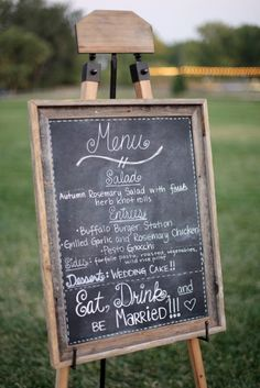 rustic easels | Rustic Chalkboard & Easel (2 Available). Photo by Laura Murray ...