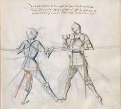 Kal, Paulus: Fechtbuch, gewidmet dem Pfalzgrafen Ludwig Bayern, 2. Hälfte 15. Jh. (nicht nach 1479) Cgm 1507 Folio 41