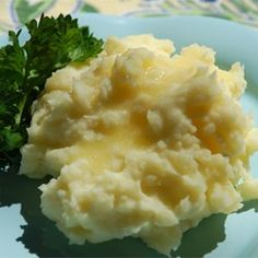 Slow Cooker Mashed Potatoes--I am not exaggerating when I say these are the. best. mashed potatoes. ever. Just avert your eyes as you stir in all that butter at the end :)