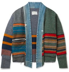 Diy Clothes Design, Sweater Refashion, Recycled Fashion, Clothing Patterns, Diy Fashion, Blue Denim, Cotton, Oatmeal Bars, Refashioning