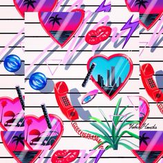 80s HEARTS