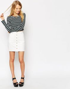 15 Mod A-Line Skirts You Will Fall in Love With via Brit + Co.