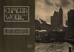 Photographic Magazine camera work By Alfred Stieglitz
