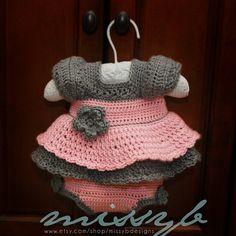 Aprendiz de Crocheteiras: Vestidinhos de Donzelas - Moda & Crochê