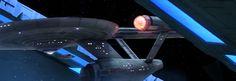 Artist Puts Original 1960s Enterprise Model Into Star Trek Movie Scenes