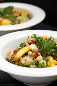 Quinoa & Mango Salad – Σαλάτα με Κινόα & Ψητό Μάνγκο