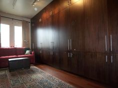 Hidden Wall To Wall Cabinets | ... Concealed From Sight. Production Of The