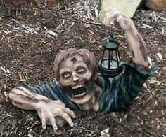 Take My Money - Solar Powered Garden Zombie $50.34