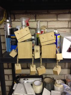 Cute wooden robots - easier to make than you think