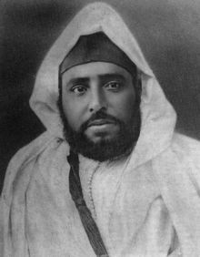 Moroccan Sultan Abdelhafid, who led the resistance to French expansionism