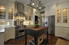 Working on redesigning our kitchen -- this could be it -- very close to what i had in mind....
