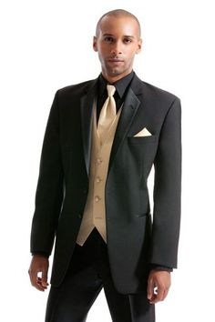 prom suit black and beige - Google Search
