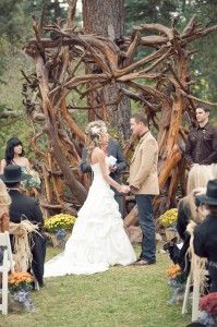 Host Your Mountain Wedding in Arizona at the Historic Molly Butler Lodge with Our Special Offer! - Greer AZ Cabin Rentals, Hotel and Restaurant..(I'm just looking for ideas. I can barely even see it on my phone right now lol)