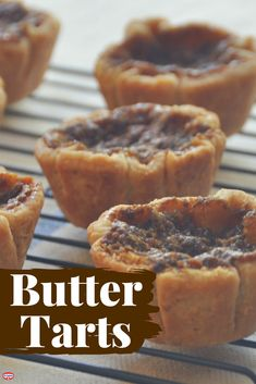 Butter Tarts in 3 Simple Steps!