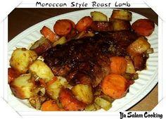 Moroccan Style Roast Lamb | Ya Salam Cooking