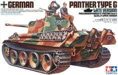 Model Tamiya 35176 German tank Panther type G Late Version Tamiya Model Kits, Tamiya Models, Military Figures, Military Diorama, Military Art, Plastic Model Kits, Plastic Models, Model Tanks, Model Building Kits