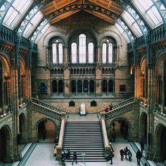 Natural History Museum, London, United Kingdom.