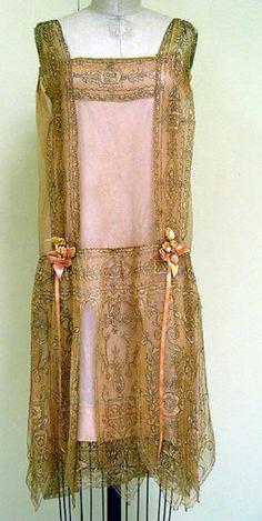 Flapper dress, Callot Soeurs, c. 1927.