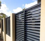 Creative Privacy fence on concrete,Modern fence cost and Garden fence construction. House, Privacy Fence Designs, Wooden Garden, Modern, Modern Fence Design, Diy Privacy Fence, Gate Design