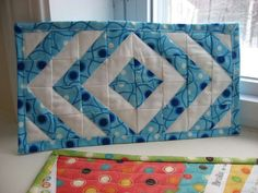Mug rugs for Quilting Gallery swap | Flickr - Photo Sharing!