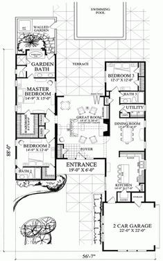 Bedroom 273m2 floor plan house plans hq click here to find your house plan 1 william e poole designs forest hills malvernweather Gallery