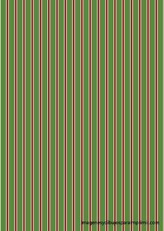 rayas rojas y verdes de navidad Papel de navidad para imprimir
