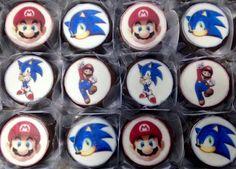 Mini pães de mel #Sonic #MarioBros