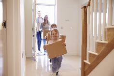 Buy Family Carrying Boxes Into New Home On Moving Day by monkeybusiness on PhotoDune. Family Carrying Boxes Into New Home On Moving Day