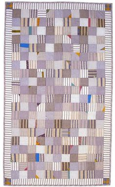 Quilt Inspiration: Waste not, want not: Quilts from reclaimed clothing