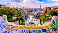 Though Barcelona is in the news for other things right now it is still an amazing city to visit and should not be missed on any Spain itinerary. It does not surprise that Barcelona is one of the best cities in Spain, does it? Cool Places To Visit, Places To Go, Barcelona Vacation, Parc Guell, Blog Voyage, Cruise Vacation, Beach Vacations, Vacation Destinations, Best Cities