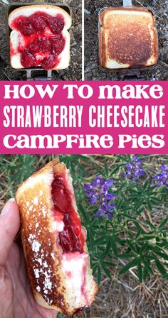 Camping Desserts, Fun Desserts, Dessert Recipes, Camping Foods, Camping Drinks, Family Camping, Easy Food For Camping, Meals For Camping, Camping Food Pie Iron