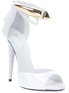 Giuseppe Zanotti Design Metallic Detail Sandal